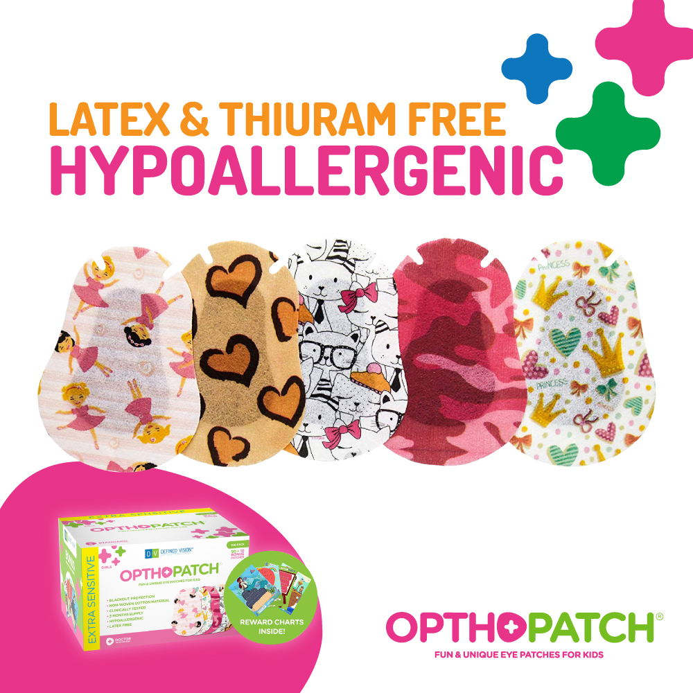 Opthopatch eyepatch for kids